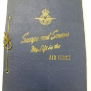 WWII Air Force Women's Division Scrapbook - May Riva