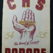 CHS yearbook 1954-1955
