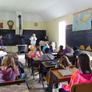 Gr. 4\'s in the School House