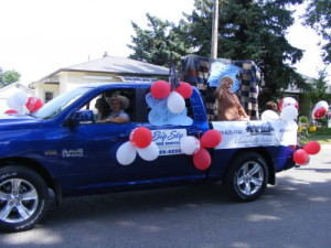 2014 Claresholm Fair Days Parade Float