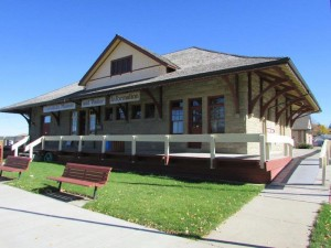 Claresholm Museum Train Station