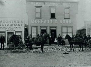 Moffatt Store in Claresholm Alberta